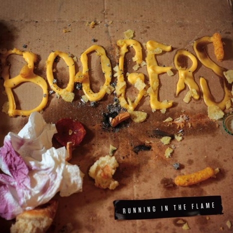 BOOGERS_Running In The Flame_pochette