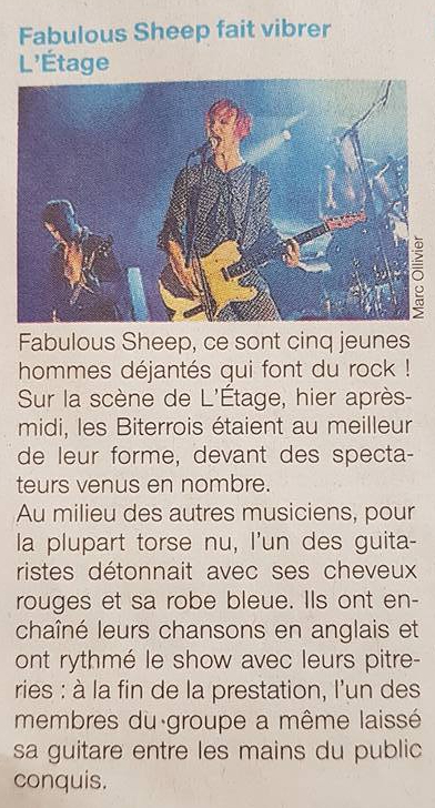 Fabulous Sheep, trans musicales, Rennes, concert
