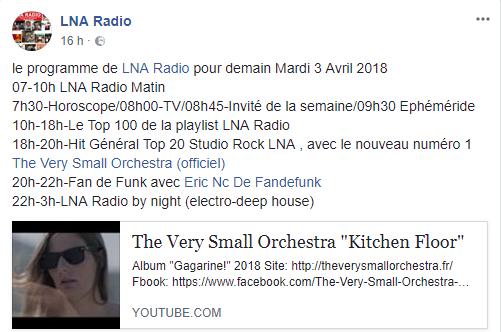 lna radio nouveau numero 1